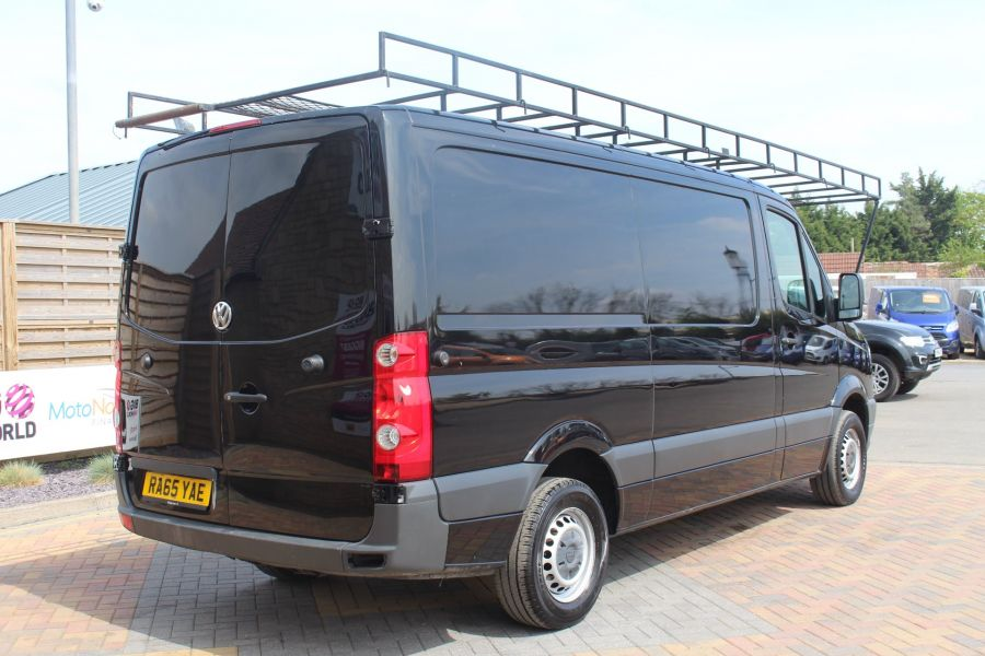 VOLKSWAGEN CRAFTER CR35 TDI 136 MWB STANDARD LOW ROOF - 9093 - 5