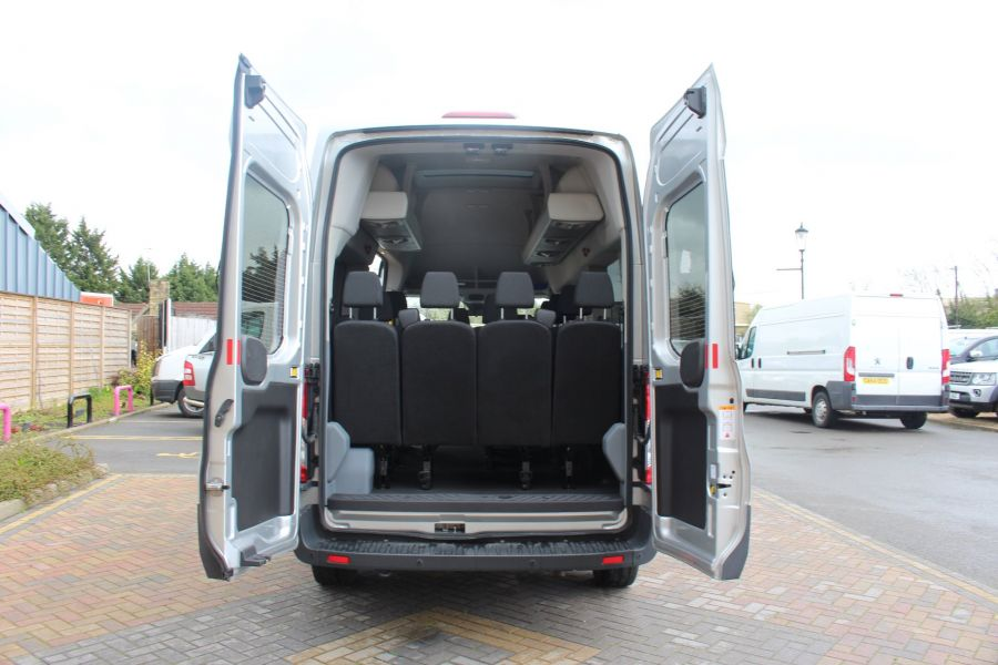 FORD TRANSIT 410 TDCI 155 L3 H3 TREND 15 SEAT BUS LWB HIGH ROOF RWD - 9122 - 24