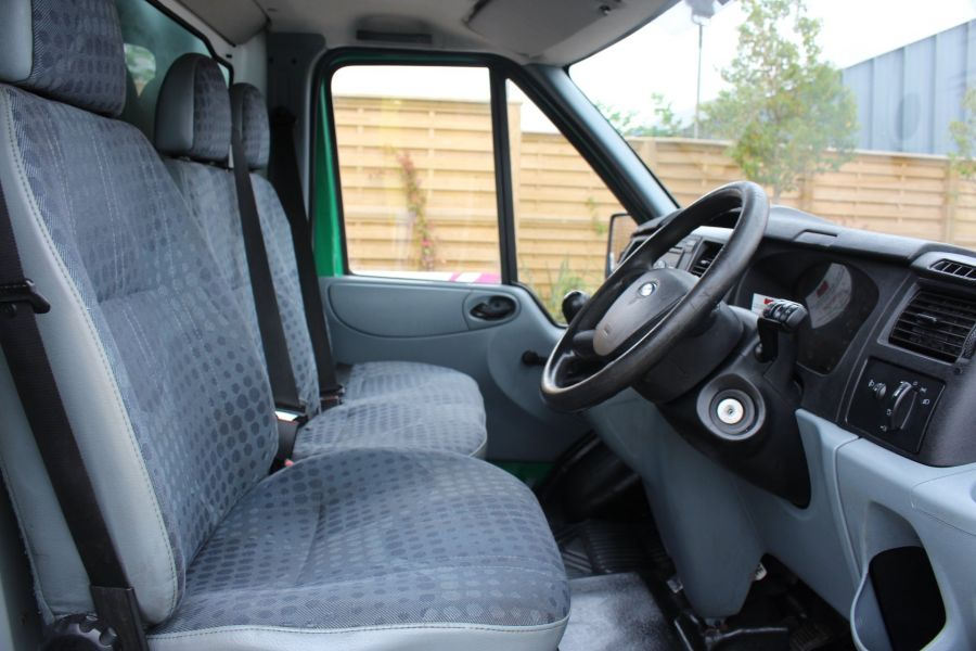 FORD TRANSIT 350 TDCI MWB SINGLE CAB NEW ALLOY ARBORIST TIPPER - 6565 - 19