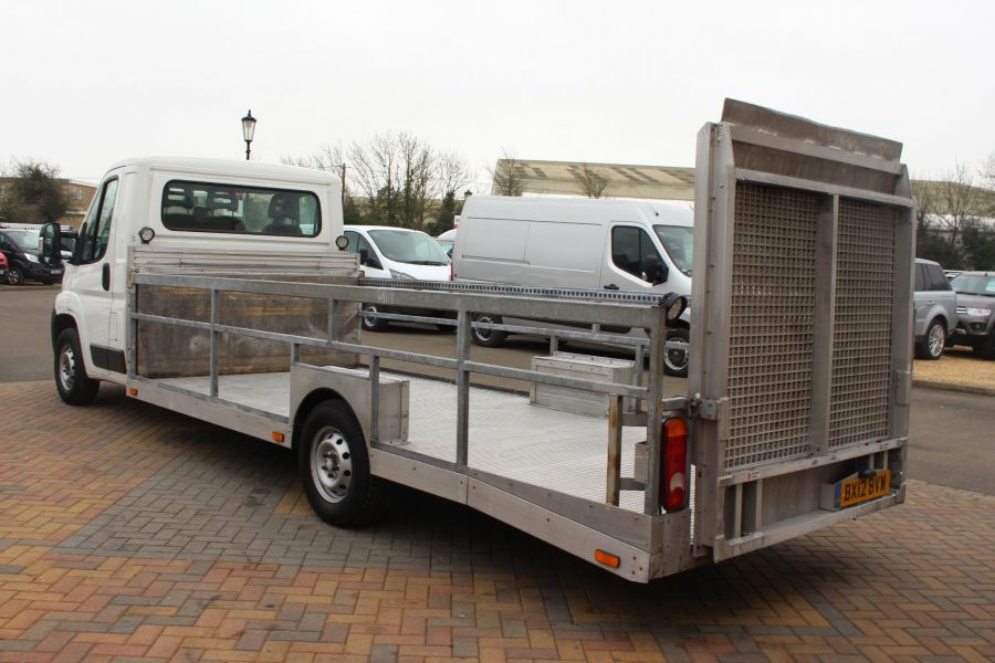 CITROEN RELAY 35 HDI 120 L3 PLATFORM CAB WITH REAR LOADING RAMP - 7171 - 7