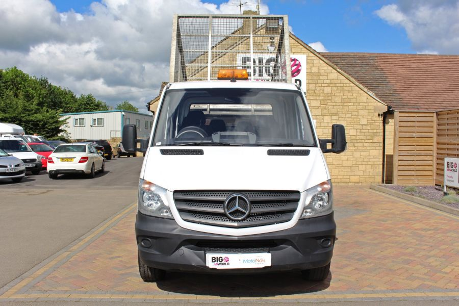 MERCEDES SPRINTER 314 CDI 140 DOUBLE CAB 6 SEAT CAGED ALLOY TIPPER - 9302 - 19