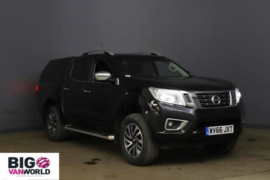 NISSAN NAVARA DCI 190 TEKNA 4X4 DOUBLE CAB WITH TRUCKMAN TOP - 11076 - 1