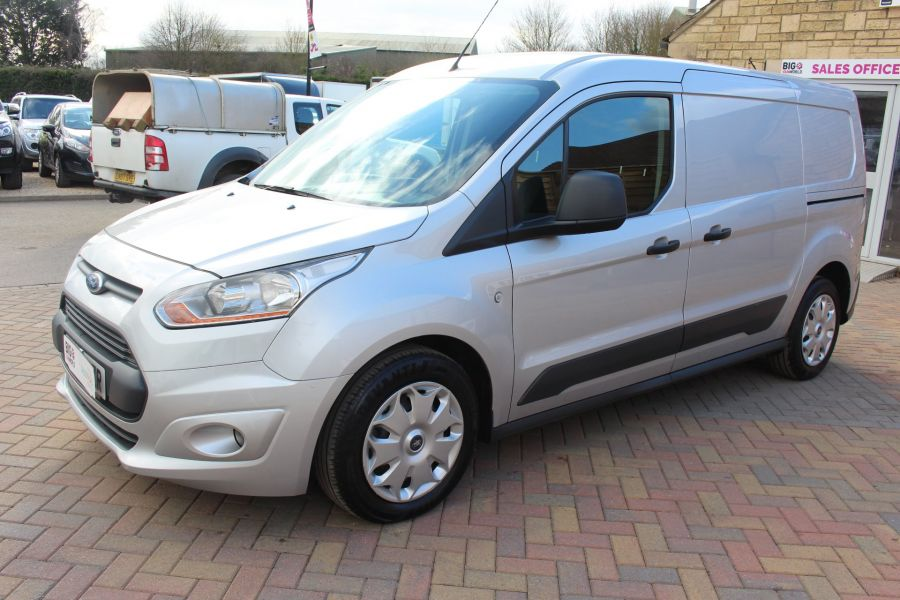 FORD TRANSIT CONNECT 240 TDCI 115 L2 H1 TREND DOUBLE CAB 5 SEAT CREW VAN - 7359 - 8