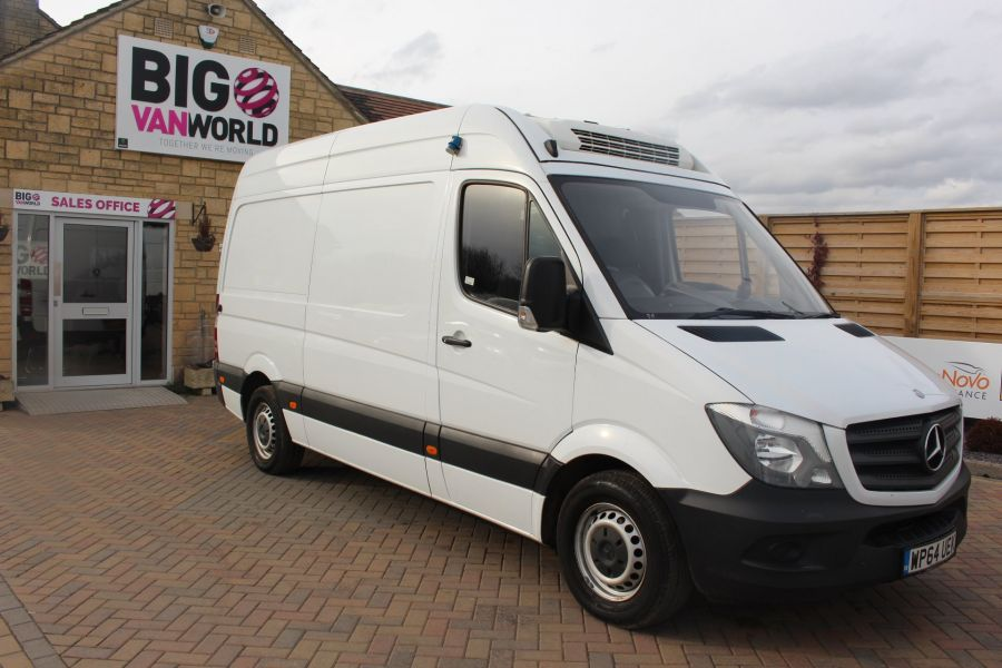 MERCEDES SPRINTER 313 CDI MWB HIGH ROOF FRIDGE / FREEZER VAN WITH OVERNIGHT - 7254 - 2