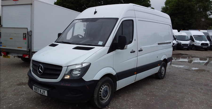 MERCEDES SPRINTER 314 CDI 140 MWB HIGH ROOF - 10876 - 8