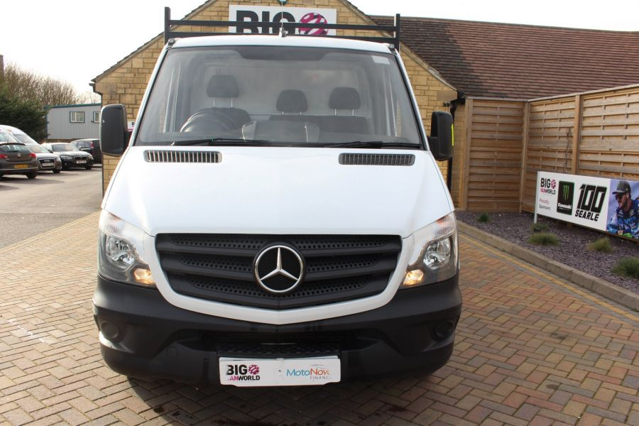 MERCEDES SPRINTER 313 CDI 129 MWB SINGLE CAB NEW BUILD ARBORIST ALLOY TIPPER - 10501 - 17