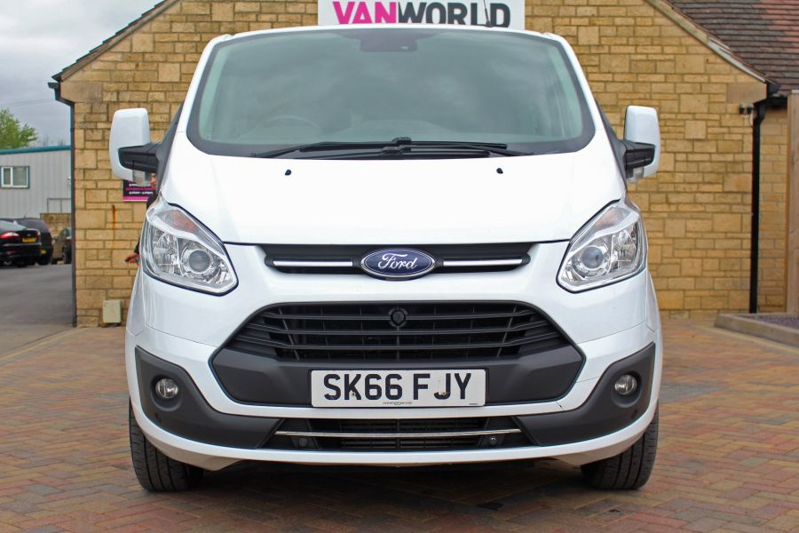 FORD TRANSIT CUSTOM 310 TDCI 170 L1 H1 LIMITED DOUBLE CAB 5 SEAT CREW VAN SWB LOW ROOF - 9234 - 10