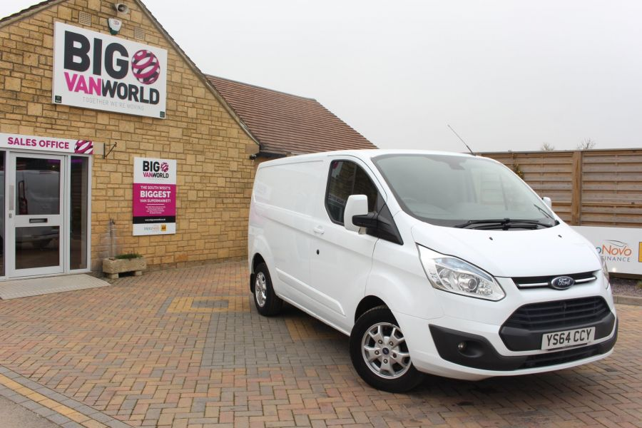 FORD TRANSIT CUSTOM 290 TDCI 155 L1 H1 LIMITED SWB LOW ROOF FWD - 9074 - 2
