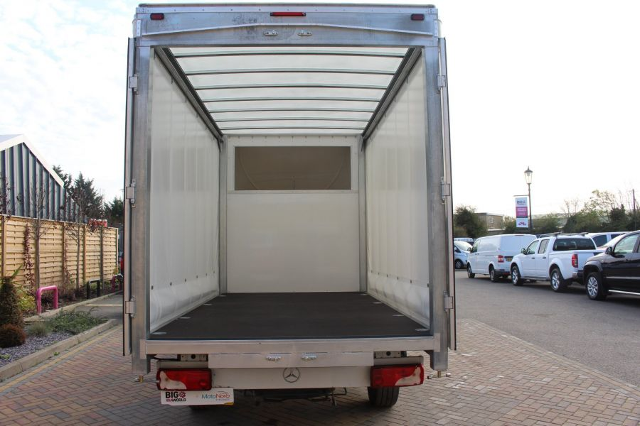 MERCEDES SPRINTER 313 CDI LWB 14FT CURTAIN SIDE LUTON BOX - 6147 - 17