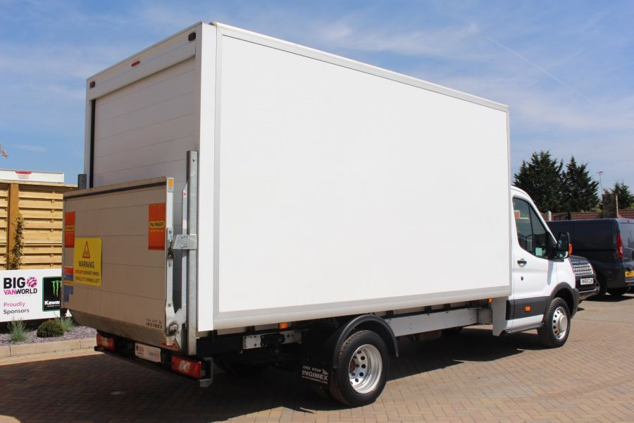 FORD TRANSIT 350 TDCI 125 L4 DRW 'ONE STOP' HIGH CAPACITY LUTON BOX WITH TAIL LIFT - 6135 - 4