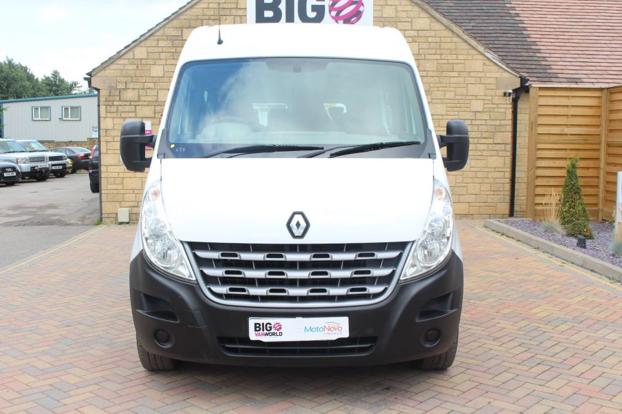 RENAULT MASTER LM39 DCI 125 COACH BUILT 17 SEAT BUS LWB MEDIUM ROOF - 5842 - 9