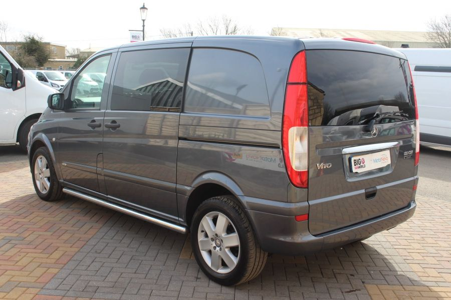 MERCEDES VITO 116 CDI 163 DUALINER COMPACT SPORT SPECIAL EDITION 5 SEAT CREW VAN - 7444 - 7