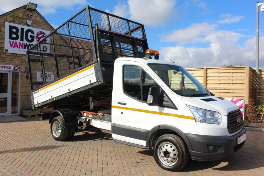 FORD TRANSIT 350 TDCI 125 SINGLE CAB 'ONE STOP' CAGED TIPPER DRW RWD - 7297 - 2