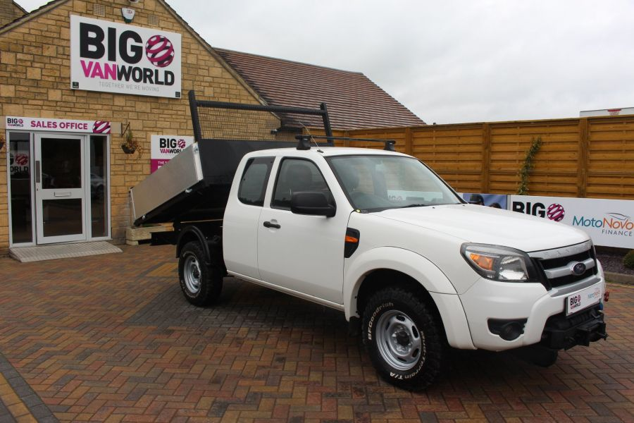 FORD RANGER XL 4X4 TDCI SUPER CAB ALLOY TIPPER - 6055 - 2