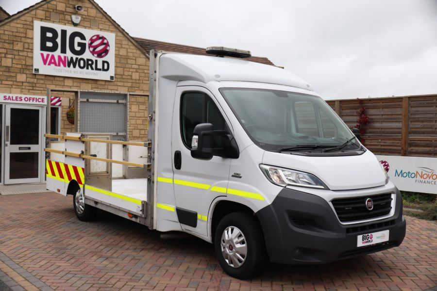 FIAT DUCATO 35 MULTIJET130 SINGLE CAB TRAFFIC MANAGEMENT - 10262 - 2
