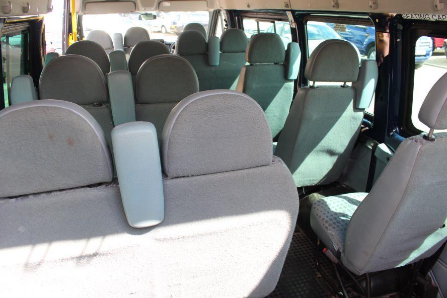 FORD TRANSIT 430 TDCI 135 LWB HIGH ROOF 17 SEATS BUS - 6332 - 30