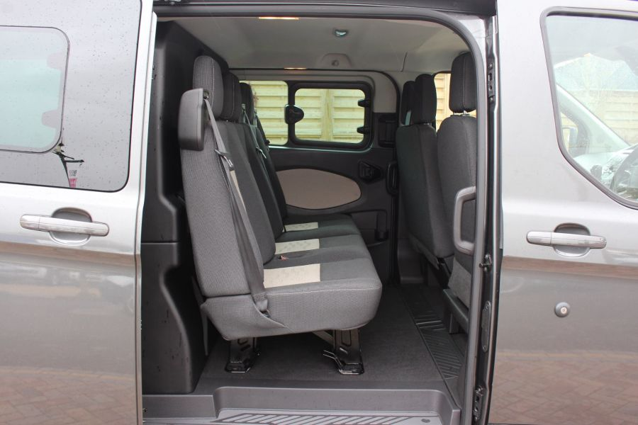 FORD TRANSIT CUSTOM 290 TDCI 125 L1 H1 LIMITED DOUBLE CAB 6 SEAT CREW VAN SWB LOW ROOF FWD - 7542 - 20