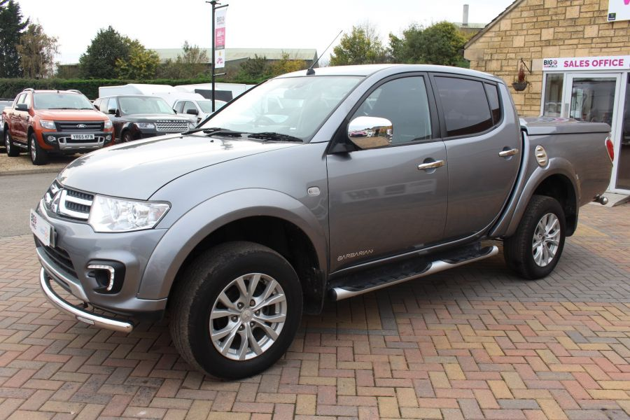MITSUBISHI L200 DI-D 4X4 LWB BARBARIAN LB 175 BHP DOUBLE CAB WITH MOUNTAIN TOP  - 6724 - 8
