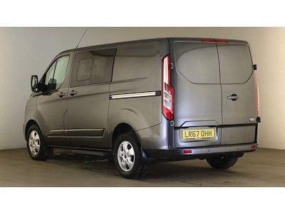 FORD TRANSIT CUSTOM 290 TDCI 170 L1H1 LIMITED DOUBLE CAB 5 SEAT CREW VAN SWB LOW ROOF - 12600 - 6