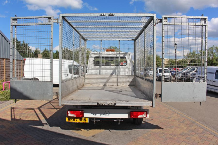 MERCEDES SPRINTER 314 CDI 140 SINGLE CAB CAGED ALLOY TIPPER - 9303 - 19