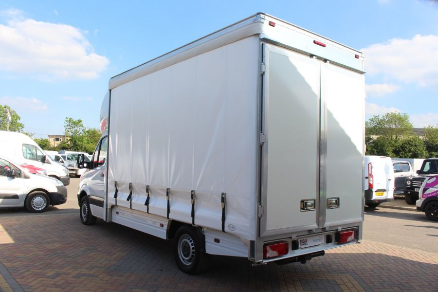 MERCEDES SPRINTER 313 CDI NEW BUILD CURTAIN SIDED BOX - 6298 - 6