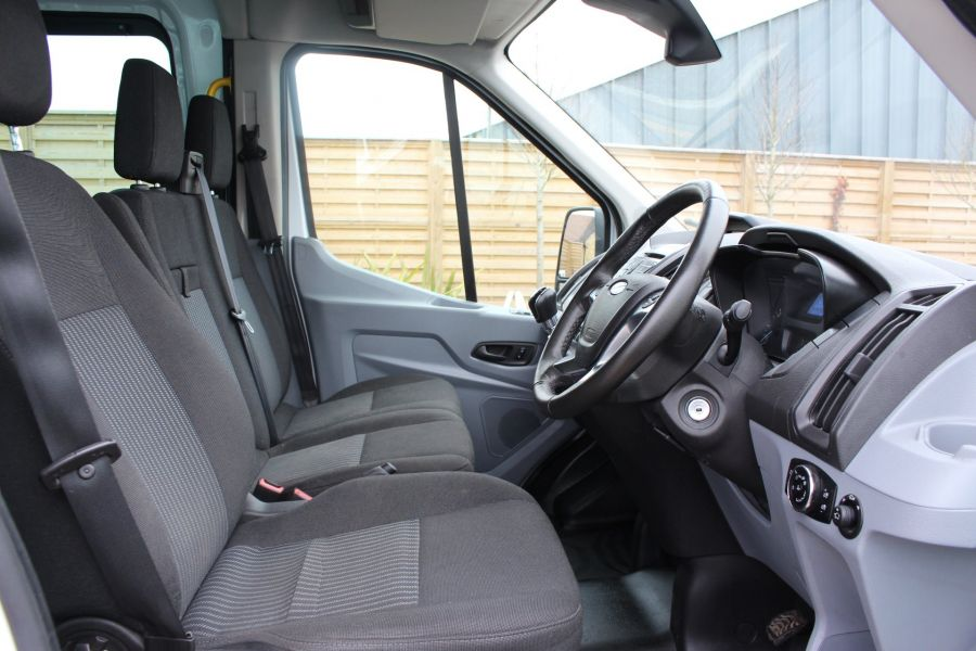 FORD TRANSIT 350 TDCI 155 L4 H3 TREND DOUBLE CAB 7 SEAT CREW VAN JUMBO HIGH ROOF  - 7472 - 11