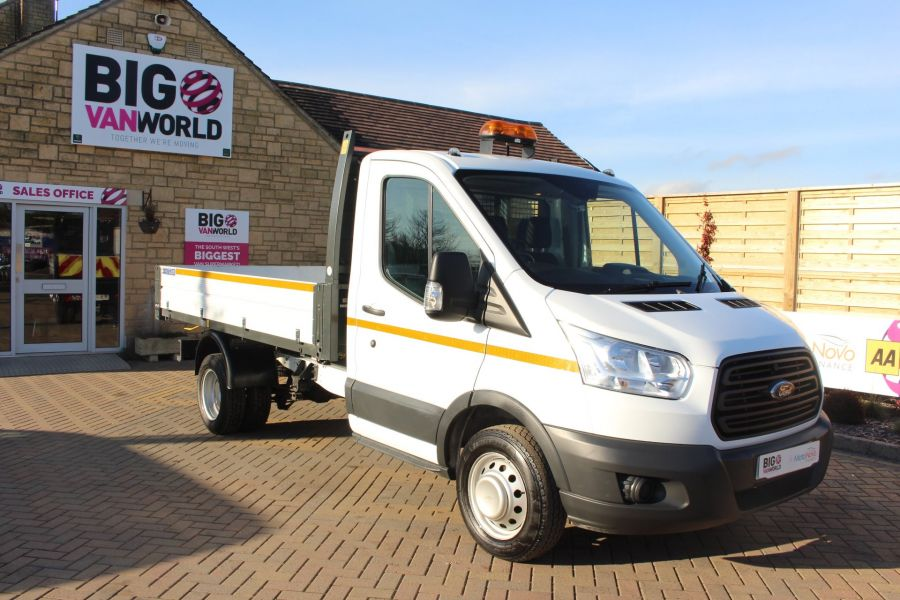FORD TRANSIT 350 TDCI 125 SINGLE CAB 'ONE STOP' ALLOY TIPPER DRW - 7213 - 10