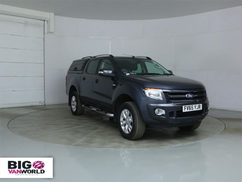 FORD RANGER WILDTRAK TDCI 4X4 DOUBLE CAB WITH TRUCKMAN TOP - 8962 - 2