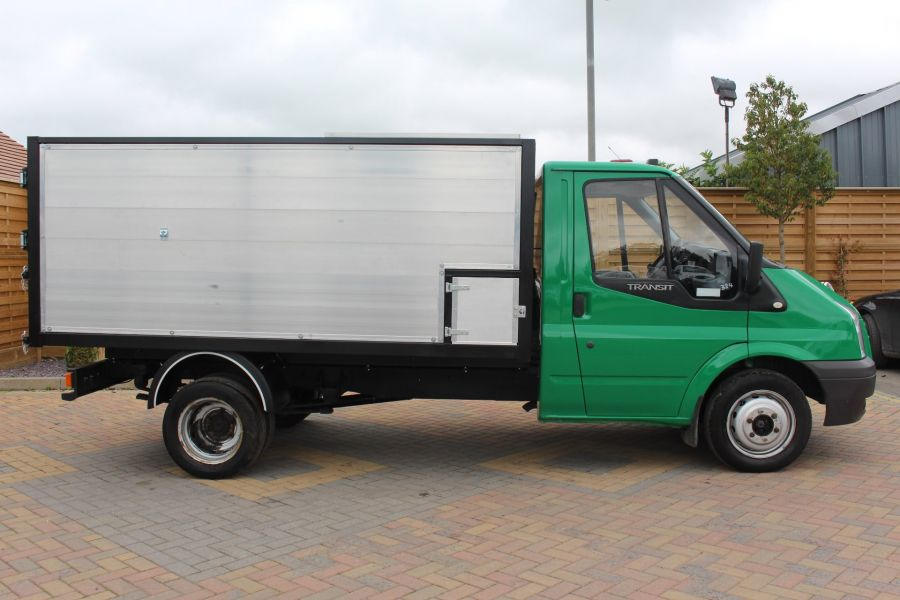 FORD TRANSIT 350 TDCI MWB SINGLE CAB NEW ALLOY ARBORIST TIPPER - 6565 - 13