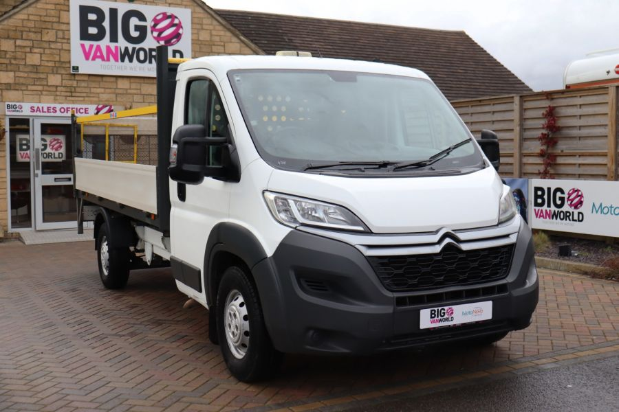 CITROEN RELAY 35 HEAVY HDI 150 ENTERPRISE L4 'ONE STOP' ALLOY DROPSIDE WITH TAIL LIFT - 10284 - 4