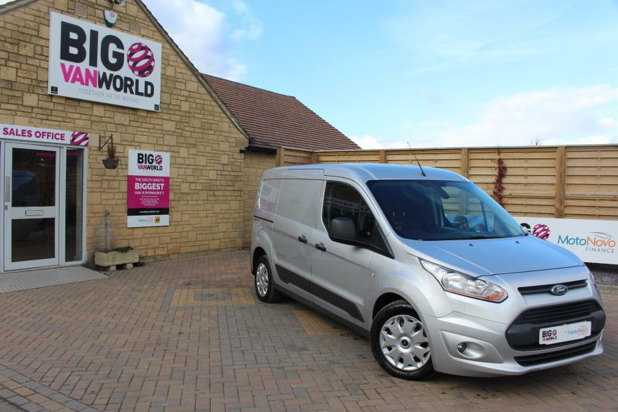 FORD TRANSIT CONNECT 240 TDCI 115 L2 H1 TREND DOUBLE CAB 5 SEAT CREW VAN - 7359 - 1