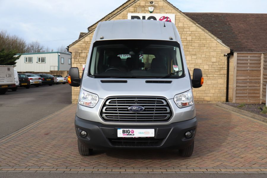 FORD TRANSIT 460 TDCI 155 L4H3 TREND 17 SEAT BUS HIGH ROOF DRW RWD - 10415 - 10