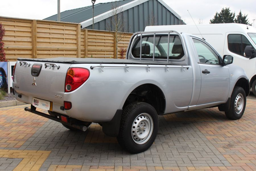 MITSUBISHI L200 DI-D 134 4X4 4LIFE LWB SINGLE CAB WITH TONNEAU COVER - 7477 - 5