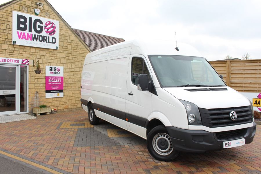 VOLKSWAGEN CRAFTER CR35 TDI 136 LWB HIGH ROOF - 7633 - 2