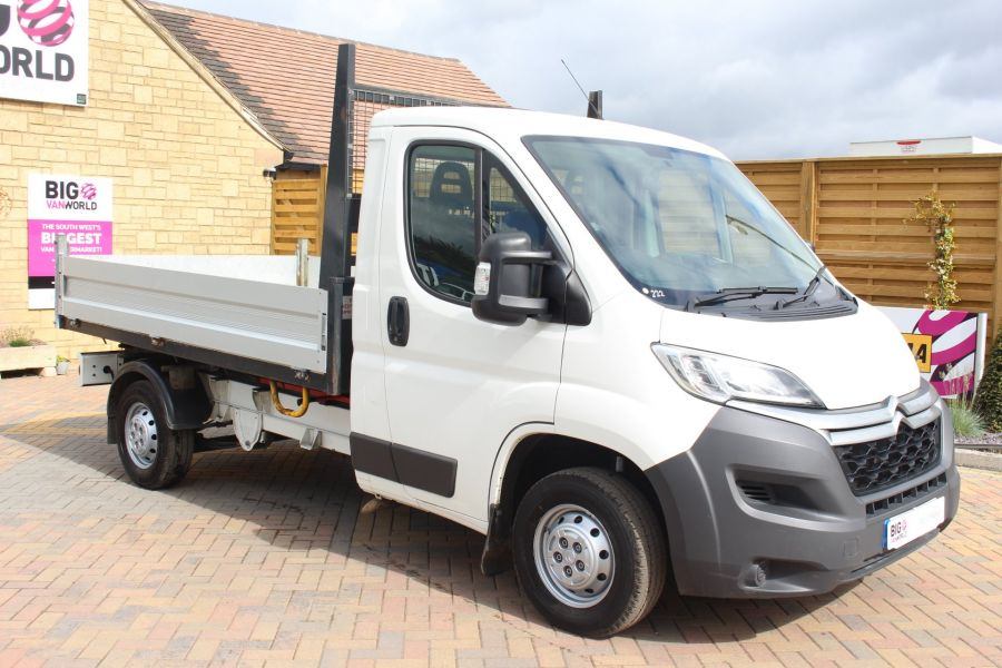 CITROEN RELAY 35 HDI 130 MWB L2 SINGLE CAB ALLOY TIPPER - 6202 - 11