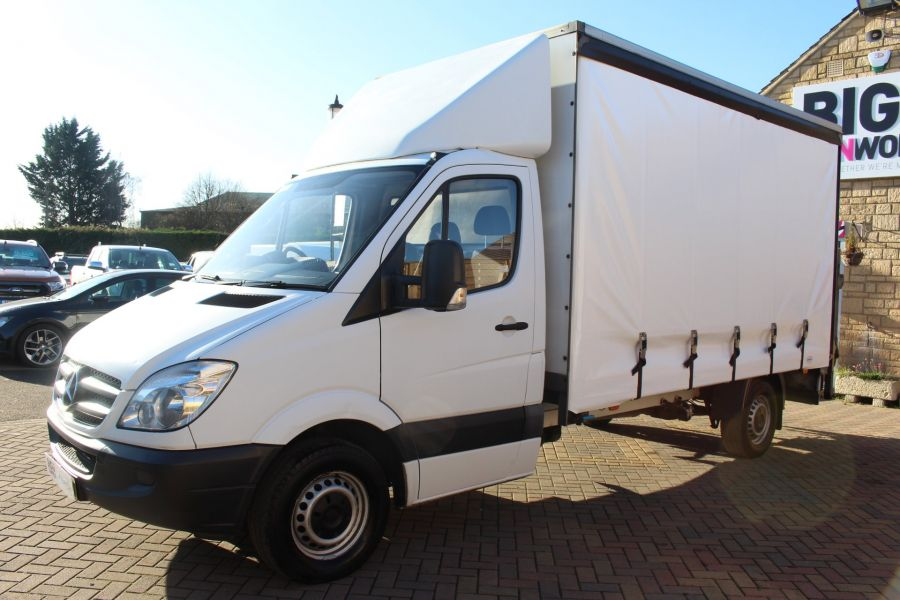 MERCEDES SPRINTER 313 CDI LWB CURTAIN SIDE BOX WITH TAIL LIFT - 6946 - 7