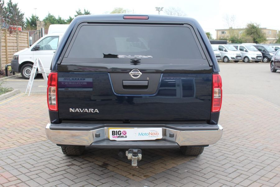 NISSAN NAVARA DCI 190 TEKNA CONNECT 4X4 DOUBLE CAB WITH TRUCKMAN TOP - 6786 - 6