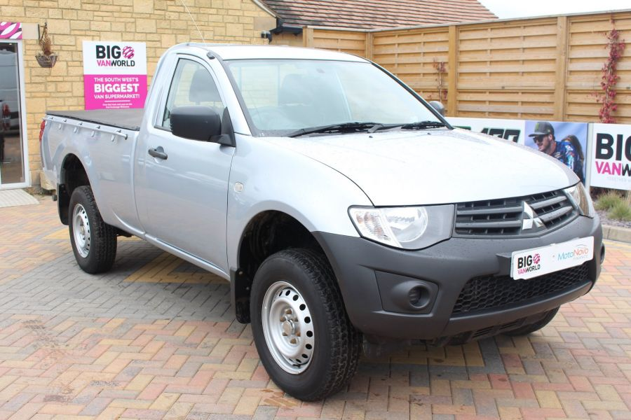 MITSUBISHI L200 DI-D 134 4X4 4LIFE LWB SINGLE CAB WITH TONNEAU COVER - 7477 - 1