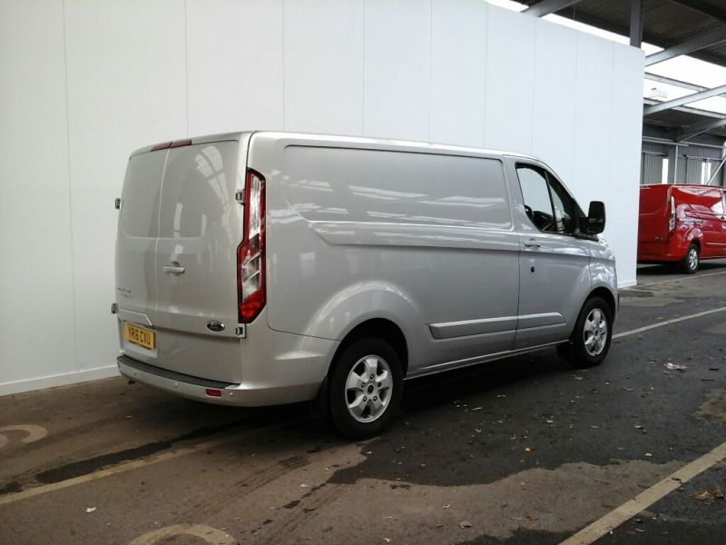 FORD TRANSIT CUSTOM 270 TDCI 125 L1 H1 LIMITED SWB LOW ROOF FWD - 9222 - 2
