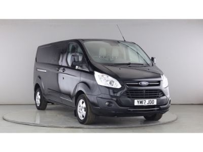 FORD TRANSIT CUSTOM 310 TDCI 130 L2H1 LIMITED DOUBLE CAB 6 SEAT CREW VAN LWB LOW ROOF - 11097 - 1