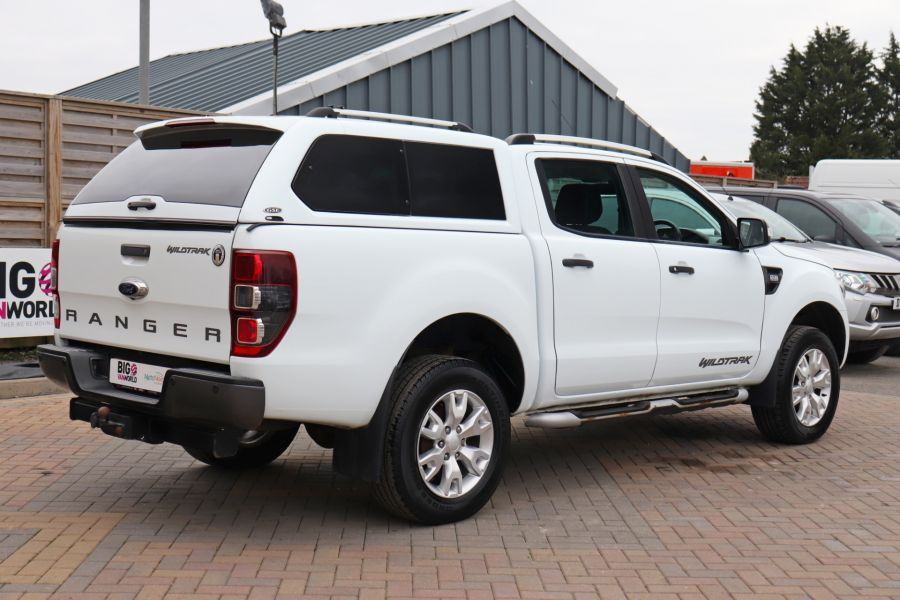 FORD RANGER TDCI 200 WILDTRAK 4X4 DOUBLE CAB WITH TRUCKMAN TOP  (13921) - 12353 - 8