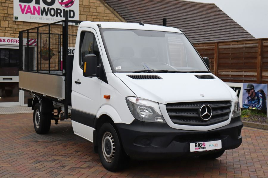 MERCEDES SPRINTER 313 CDI 129 MWB SINGLE CAB NEW BUILD ALLOY CAGED TIPPER - 9685 - 4