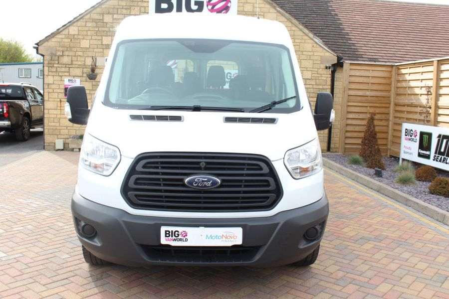 FORD TRANSIT 410 TDCI 125 L3 H2 15 SEAT BUS LWB MEDIUM ROOF - 6975 - 7