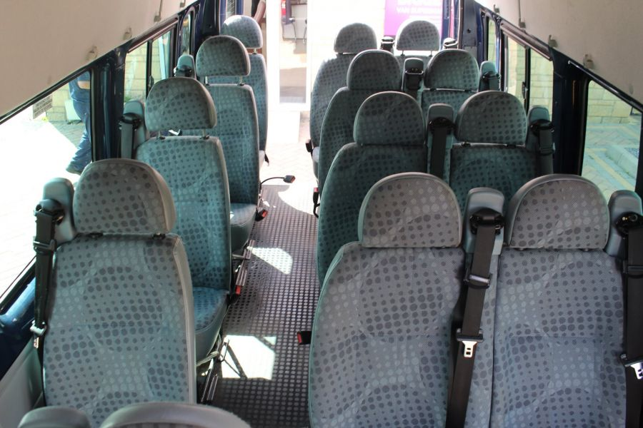 FORD TRANSIT 430 TDCI 135 LWB HIGH ROOF 17 SEATS BUS - 6332 - 21