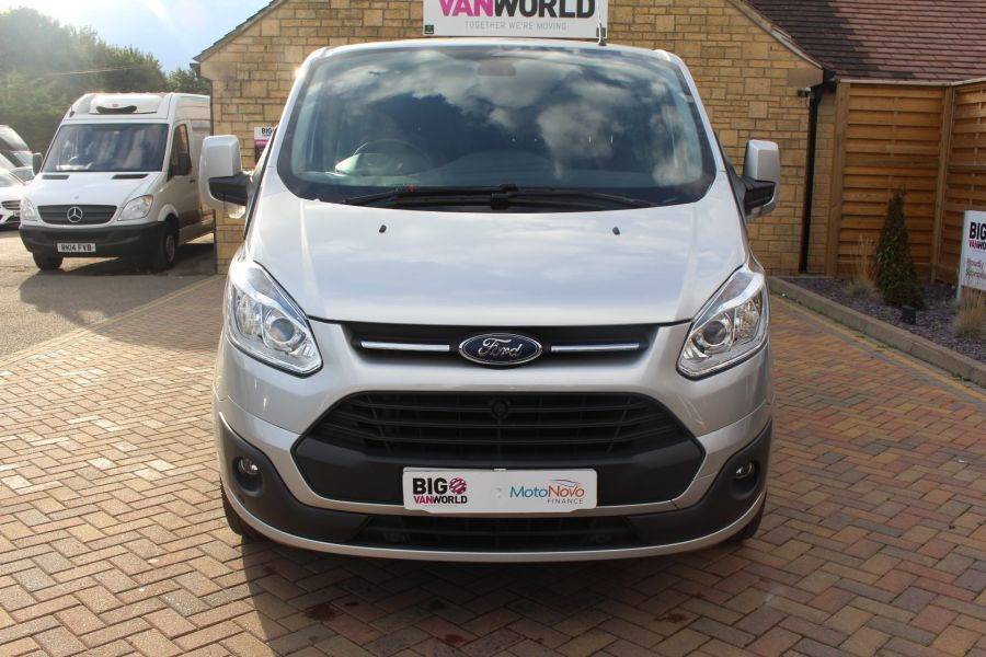 FORD TRANSIT CUSTOM 290 TDCI 125 L1 H1 LIMITED DOUBLE CAB 6 SEAT CREW VAN SWB LOW ROOF FWD - 6791 - 9