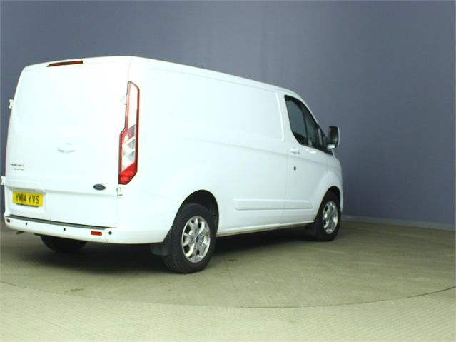 FORD TRANSIT CUSTOM 270 TDCI 125 LIMITED L1 H1 SWB LOW ROOF FWD - 6592 - 2
