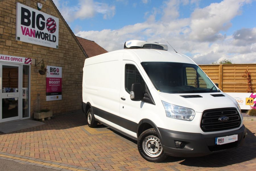 FORD TRANSIT 310 TDCI 125 L3 H2 FRIDGE LWB MEDIUM ROOF FWD - 6626 - 1