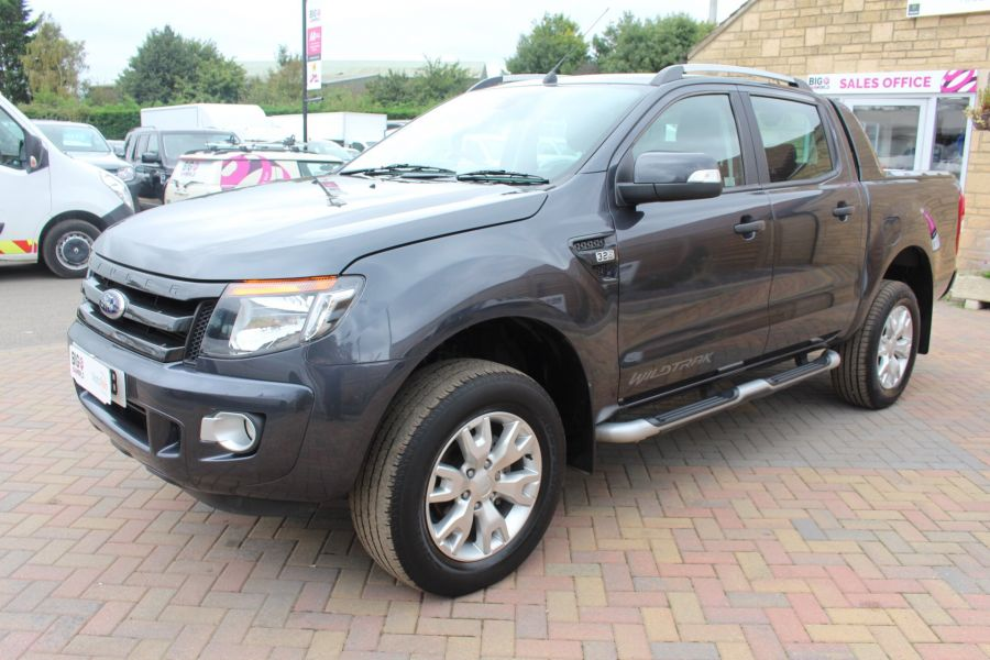 FORD RANGER WILDTRAK 4X4 TDCI 197 BHP DOUBLE CAB WITH MOUNTAIN TOP - 6601 - 8