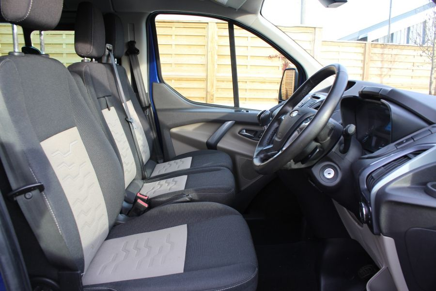 FORD TRANSIT CUSTOM 290 TDCI 125 L2 H1 LIMITED DOUBLE CAB 6 SEAT CREW VAN LWB LOW ROOF FWD  - 7113 - 13