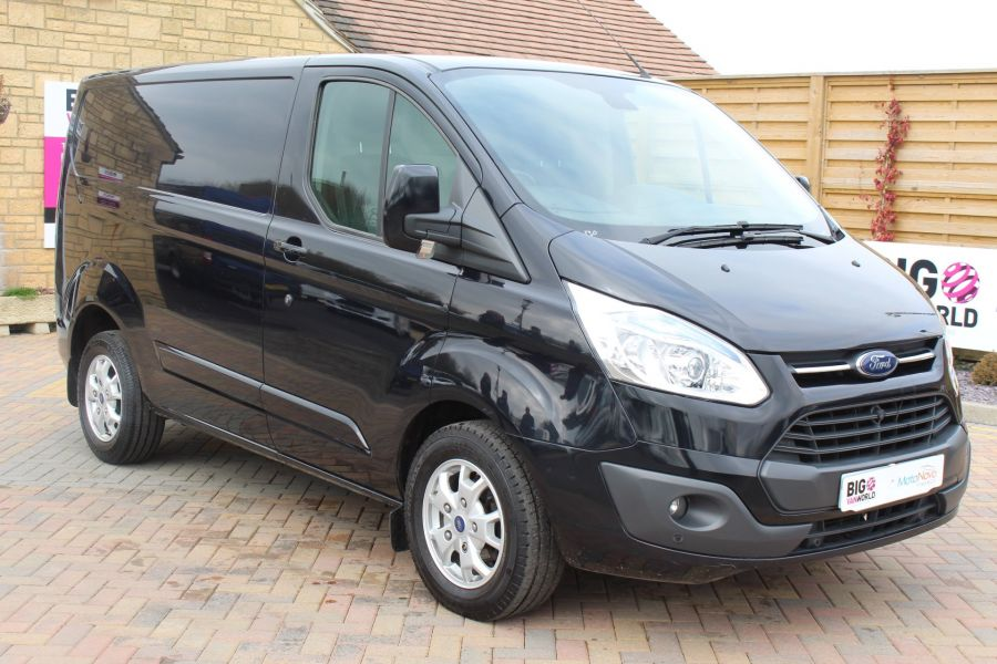 FORD TRANSIT CUSTOM 270 TDCI 155 L1 H1 LIMITED SWB LOW ROOF FWD - 7564 - 1